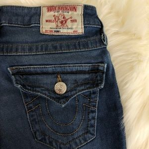 True Religion World Tour Women's Skinny Jean